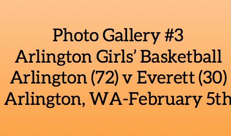 Photo Gallery #3: Girls' Basketball