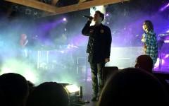 Hoodie Allen performing his song