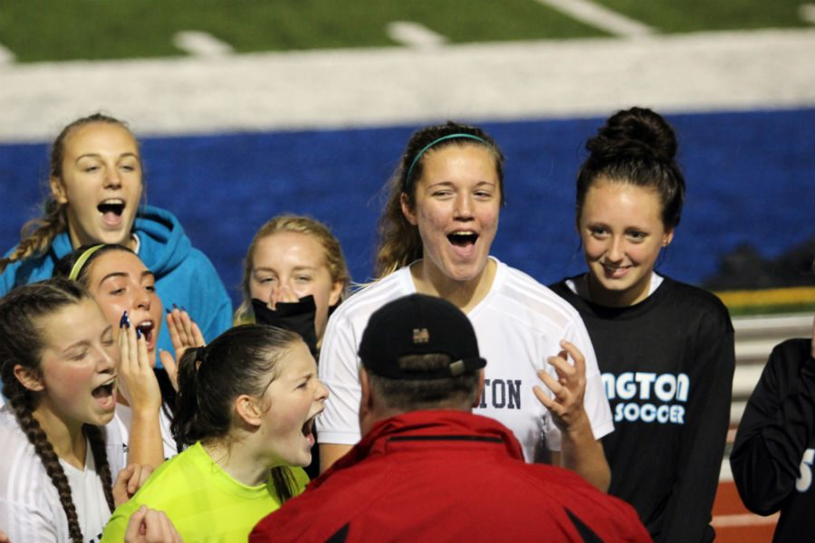 Arlington Girls' Soccer Takes Home District Title