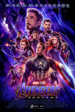 Poster for Avengers: Endgame, taken from Marvel.com