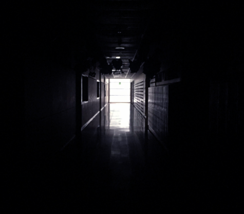 "Within the hallways of the B wing during ""snowmageddon"" of last year, the darkness creates fear."