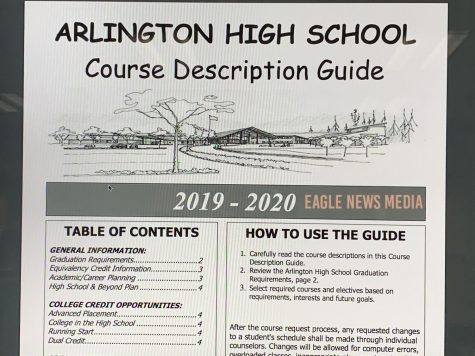 The course description for the 2019-2020 school year opening page.
