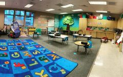 Ms. Shanelle Shirey is a kindergarten teacher at Presidents and alum of Arlington High School. She shared this picture of her classroom waiting for students to fill it.